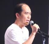 暫定センターに選ばれたトレンディエンジェル・斎藤司=「吉本坂46」お披露目会 (C)ORICON NewS inc.