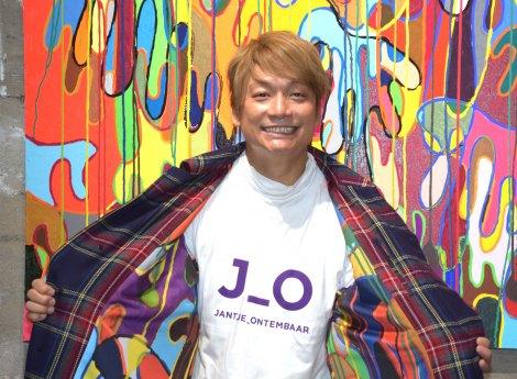 ショップ『JANTJE_ONTEMBAAR』をオープンさせた香取慎吾=『JANTJE_ONTEMBAAR』プレス向けプレオープン (C)ORICON NewS inc.