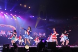"『Animelo Summer Live 2018 ""OK!""』2日目に登場したスタァライト九九組(C)Animelo Summer Live 2018/MAGES."