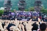 大型野外ライブ『GLAY × HOKKAIDO 150 GLORIOUS MILLION DOLLAR NIGHT Vol.3』の様子 Photo by 岡田裕介/田辺佳子