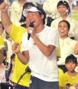 武道館でマラソンをゴールしたみやぞん (C)ORICON NewS inc.