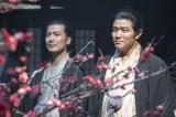 薩摩の西郷吉之助(鈴木亮平)と長州の桂小五郎(玉山鉄二)。笑顔の2人が歴史を動かしていく(C)NHK