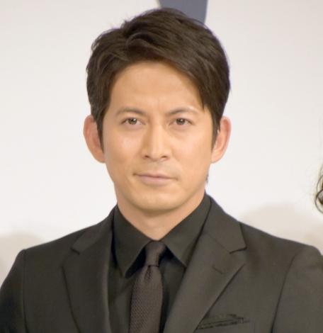 映画『散り椿』完成報告会見に出席した岡田准一 (C)ORICON NewS inc.