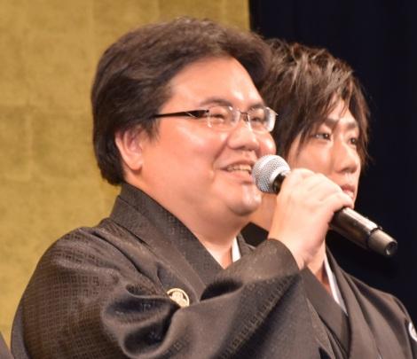 映画『泣き虫しょったんの奇跡』公開直前舞台あいさつに出席した駒木根隆介 (C)ORICON NewS inc.