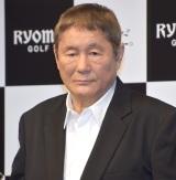 『リョーマゴルフ新CM発表会』に出席したビートたけし (C)ORICON NewS inc.