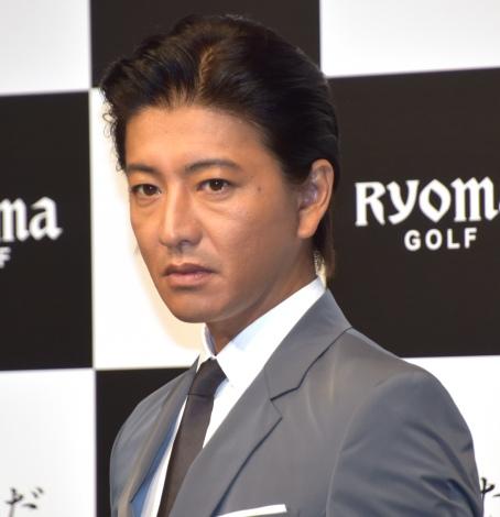 『リョーマゴルフ新CM発表会』に出席した木村拓哉 (C)ORICON NewS inc.
