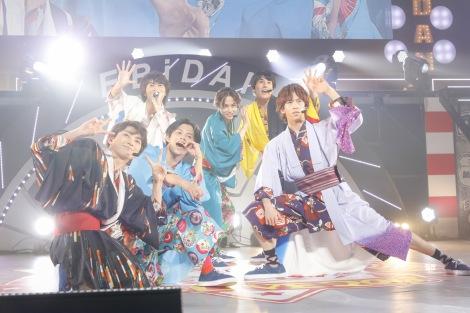 『EBiDAN THE LIVE 2018』に出演した超特急(1日目) Photo by 米山三郎/笹森健一/小坂茂雄