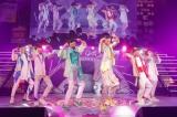 シャッフルユニット「通勤快速」 =『EBiDAN THE LIVE 2018 〜Summer Party〜【DAY1】』Photo by 米山三郎/笹森健一/小坂茂雄