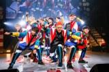 シャッフルユニット「生肉★ドラゴン」 =『EBiDAN THE LIVE 2018 〜Summer Party〜【DAY2】』Photo by 米山三郎/笹森健一/小坂茂雄