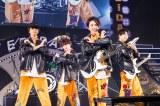 シャッフルユニット「CASH\\」=『EBiDAN THE LIVE 2018 〜Summer Party〜【DAY2】』Photo by 米山三郎/笹森健一/小坂茂雄