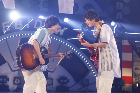 さくらしめじ=『EBiDAN THE LIVE 2018 〜Summer Party〜【DAY1】』Photo by 米山三郎/笹森健一/小坂茂雄