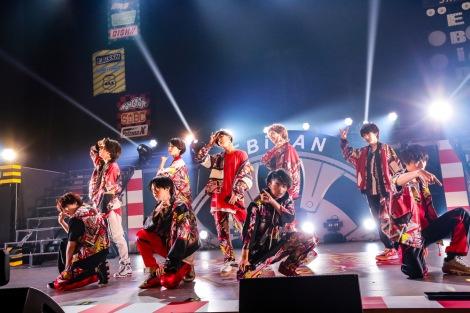 SUPER★DRAGON=『EBiDAN THE LIVE 2018 〜Summer Party〜 【DAY2】』Photo by 米山三郎/笹森健一/小坂茂雄