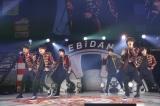 2日目のオープニングアクトを務めたBATTLE BOYS TOKYO=『EBiDAN THE LIVE 2018 〜Summer Party〜 【DAY2】』Photo by 米山三郎/笹森健一/小坂茂雄