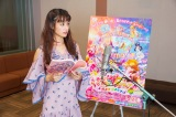 映画『プリキュア』でアフレコに挑む山本美月(C)2018 映画HUGっと!プリキュア製作委員会