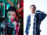 『仮面ライダージオウ』(9月2日スタート)主題歌でShuta Sueyoshi(AAA・末吉秀太)(左)&ISSA(DA PUMP)が スペシャルユニット結成