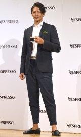 ネスプレッソ 新コーヒーシリーズ『マスターオリジン』発表会に出席した玉木宏 (C)ORICON NewS inc.