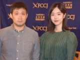 カンヌの思い出を語った(左から)濱口竜介監督、唐田えりか (C)ORICON NewS inc.