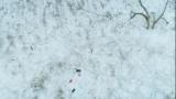 壮大な雪山ロケを行ったテレビ朝日系金曜ナイトドラマ『dele』第6話(8月31日放送)のファーストカット(C)テレビ朝日