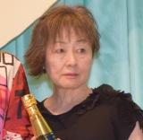 映画『食べる女』完成披露舞台あいさつに登壇した原作者の筒井ともみ (C)ORICON NewS inc.