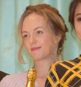 映画『食べる女』完成披露舞台あいさつに登壇したシャーロット・ケイト・フォックス (C)ORICON NewS inc.