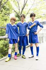 日本テレビで放送される『部活、好きじゃなきゃダメですか?』に主演するKing & Prince(左から)岩橋玄樹、高橋海人、神宮寺勇太 (C)日本テレビ