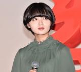 主演映画『響 -HIBIKI-』(9月14日公開)完成披露舞台あいさつに登壇した欅坂46の平手友梨奈 (C)ORICON NewS inc.