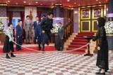 3日放送の日本テレビ系『しゃべくり007』では平手友梨奈と北川景子がしゃべくりメンバーと大縄跳び (C)日本テレビ