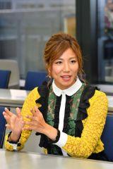 毎日放送『戦え!スポーツ内閣』の放送100回記念記者会見に出席した安田美沙子(C)MBS