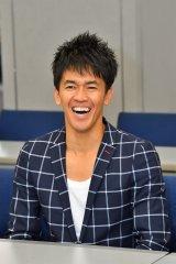 毎日放送『戦え!スポーツ内閣』の放送100回記念記者会見に出席した武井壮(C)MBS