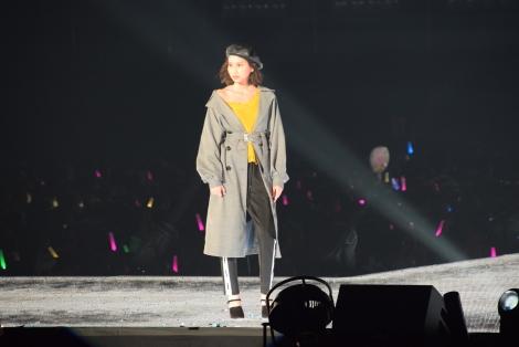 『東京ガールズコレクション 2018 AUTUMN/WINTER』に出演した河北麻友子 (C)ORICON NewS inc.
