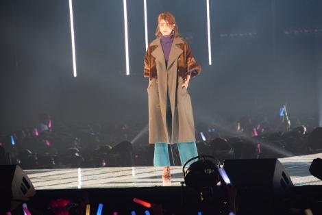 『東京ガールズコレクション 2018 AUTUMN/WINTER』に出演したマギー (C)ORICON NewS inc.