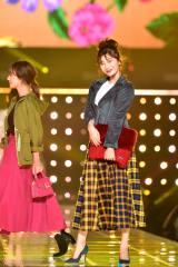 『東京ガールズコレクション 2018 AUTUMN/WINTER』に出演した小倉優香(C)マイナビ presents TOKYO GIRLS COLLECTION 2018 A/W
