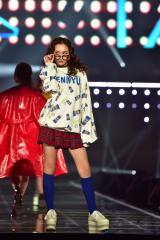 TGC2018A/Wの「PUNYUS」ステージより(C)マイナビ presents TOKYO GIRLS COLLECTION 2018 A/W