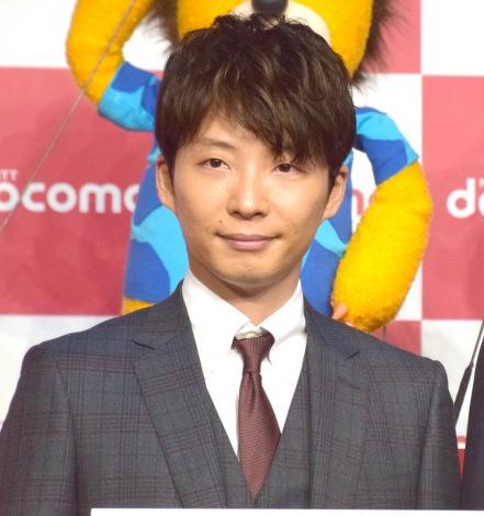 『NTTドコモ 新CM「星プロ」シリーズ』の発表会に出席した星野源 (C)ORICON NewS inc.