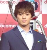 『NTTドコモ 新CM「星プロ」シリーズ』の発表会に出席した新田真剣佑 (C)ORICON NewS inc.