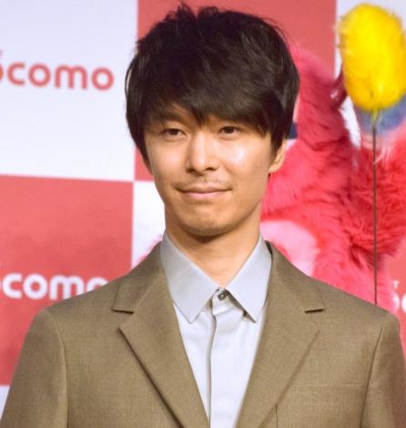 『NTTドコモ 新CM「星プロ」シリーズ』の発表会に出席した長谷川博己 (C)ORICON NewS inc.