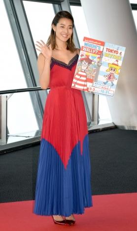 『WHERE'S WALLY? in TOKYO SKYTREE「東京スカイツリーでウォーリーをさがせ!」』トークショーに出席したすみれ (C)ORICON NewS inc.