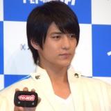 『イモトのWi-Fi』新CM発表会に出席したMAG!C☆PRINCE・永田薫 (C)ORICON NewS inc.