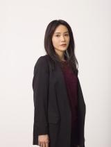木曜ドラマF『ブラックスキャンダル』に出演する山口紗弥加