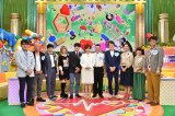9月4日放送、テレビ朝日系『笑いより健康が気になる芸人が集まる診療所 目指せ!ケンコウ芸人』出演者(C)テレビ朝日