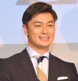 日本テレビ『news zero』の会見に出席した弘竜太郎アナ (C)ORICON NewS inc.
