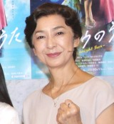 舞台『タイヨウのうた』囲み取材&公開ゲネプロに出席した高橋恵子 (C)ORICON NewS inc.