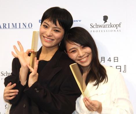 サムネイル 『BW Fes 2018』に出席した(左から)菅原小春、タテジマヨーコ (C)ORICON NewS inc.