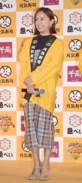 『キッチンファイト ザ・ワールド』に審査員として参加した鈴木亜美 (C)ORICON NewS inc.