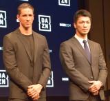 (左から)フェルナンド・トーレス選手、村田諒太選手 (C)ORICON NewS inc.