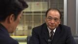 (左から)坂上忍、塚原光男(日本体操協会副会長)=フジテレビ『直撃!シンソウ坂上』(C)フジテレビ