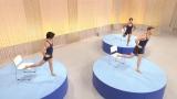 8月27日から30日までNHK総合で4夜連続放送され、ネットでバズった5分番組『みんなで筋肉体操』。9月13日の『NET BUZZ』で一挙放送予定(C)NHK