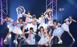 デビュー1周年記念ライブで初披露した4thシングル「Want-you!Want-you!」 (C)ORICON NewS inc.
