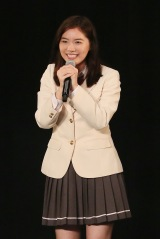 チームS『重ねた足跡』公演の野島樺乃生誕祭にサプライズ登場した松井珠理奈 (C)AKS