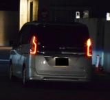 原宿署に移送される吉澤ひとみ容疑者を乗せた車両(C)ORICON NewS inc.